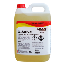 GSO5 AGAR G-SOLVE - CLEANING SOLVENT AND CARPET SPOTTER 5LT
