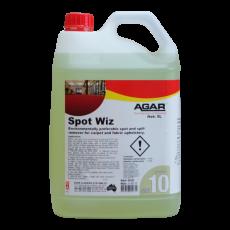 SPO5 AGAR SPOT WIZ - CARPET CARPET AND UPHOLSTERY SPOT REMOVER 5LT
