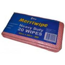 19704 EDCO MERRIWIPE H/D WIPES PK 20