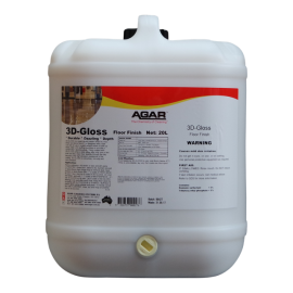 3DG20 AGAR 3D-GLOSS - FLOOR SEALER 20LT
