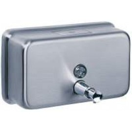 A-600 POSEER WASHROOM SOAP DISPENSER STAINLESS STEEL