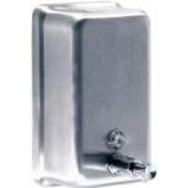 A-605 POSEER WASHROOM SOAP DISPENSER STAINLESS STEEL