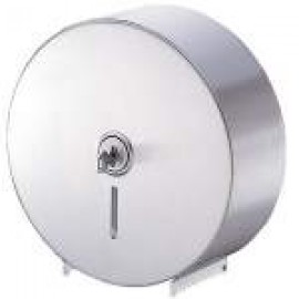 A-841 POSEER SINGLE JUMBO TOILET ROLL DISPENSER STAINLESS STEEL