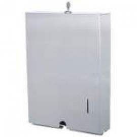 A-855 POSEER STAINLESS STEEL INTERLEAVED PAPER TOWEL DISPENSER