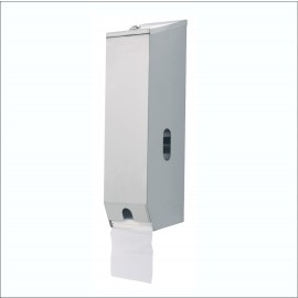 A-833 TRIPLE TOILET ROLL DISPENSER STAINLESS STEEL