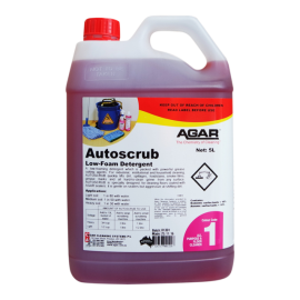 AU5 AGAR AUTOSCRUB - LOW FOAMING GENERAL PURPOSE CLEANER 5LT