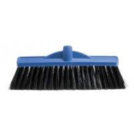 B-12140 OATES 350MM INDUSTRIAL EXTRA STIFF POLY BROOM  HEAD ONLY