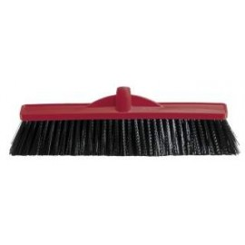B-12141 OATES 450MM INDUSTRIAL EXTRA STIFF POLY BROOM  HEAD ONLY