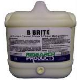 100015 RESEARCH B-BRITE - ALL SURFACE CLEANER, SHINER & FINGER MARK PROTECTOR 15LT