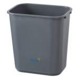 BB-28GY OATES DESK BIN GREY 28LT