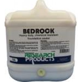 61015 RESEARCH BEDROCK - HEAVY DUTY, CHEMICAL RESISTANT FOUNDATION SEALER 15LT