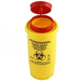 BLR-1 0.5LT SHARPES & CLINICAL WASTE CONTAINER