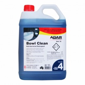 BOW5 AGAR BOWL CLEAN -  TOILET AND WASHROOM CLEANER 5LT