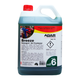BRE5 AGAR BREEZE -  AIR FRESHNENER DETERGENT 5LT