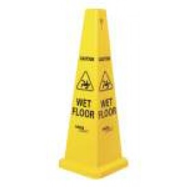 CC-121YW OATES MEDIUM CAUTION WET FLOOR CONE 690MM HIGH