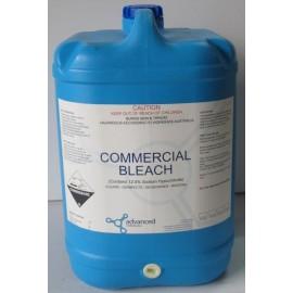 2138 CHEMTEST COMMERCIAL BLEACH - 12.5% SODIUM HYPOCHLORITE 25LT