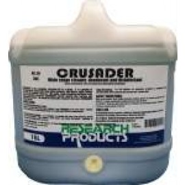 31015H RESEARCH CRUSADER - WIDE RANGE CLEANER, DEODORANT AND DISINFECTANT 15LT