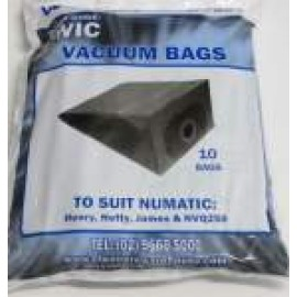CW1C CLEANERS WAREHOUSE HENRY BAGS PK 10