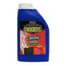 CAUSTIC500 DIGGERS CAUSTIC SODA 500GM