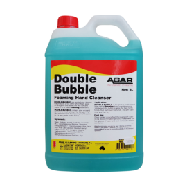 DOU5 AGAR DOUBLE BUBBLE FOAMING HAND SOAP 5LT