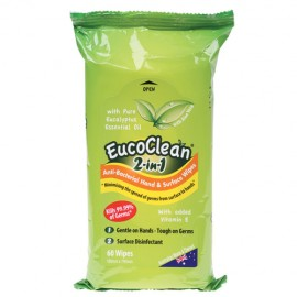 HSW2IN1 EUCOCLEAN 2 IN 1 WIPES