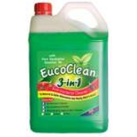 EU5 EUCOCLEAN 3 IN 1 ANTI BACTRIAL CLEANER 5LT