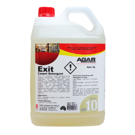 EX5 AGAR EXIT CARPET CLEANER 5LT