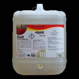 EX20 AGAR EXIT - CARPET DETERGENT 20LT
