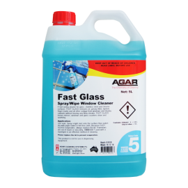 FAS5 AGAR FAST GLASS - WINDOW AND GLASS CLEANER 5LT