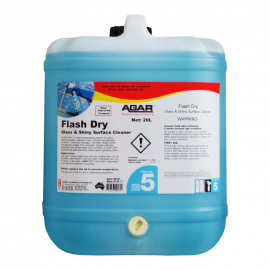 FLD20 AGAR FLASH DRY - WINDOW AND GLASS CLEANER 20LT