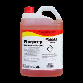 FLP5 AGAR FLORPREP SCRUB BACK FLOOR DETERGENT 5LT