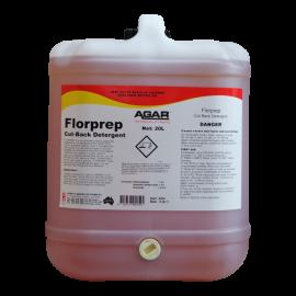 FLP20 AGAR FLORPREP - SCRUB BACK FLOOR DETERGENT 20LT