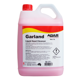 GAR5 AGAR GARLAND - GENTLE HAND CLEANER 5LT