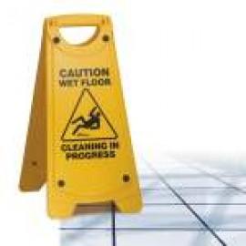 IW-101 OATES NON SLIP A FRAME CAUTION WET FLOOR SIGN