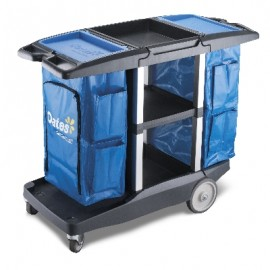 JC-3200D OATES PLATINUM DUAL HOUSEKEEPING CART