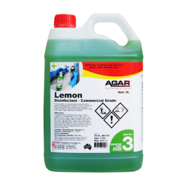 LE5 AGAR  DISINFECTANT LEMON- CITRUS SCENTED 5LT