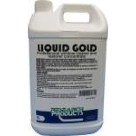 39115A RESEARCH LIQUID GOLD - PROFESSIONAL WINDOW CLEANER AND RESTORER 5LT