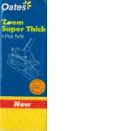 MS-004-1 OATES SQUEEZE MOP SUPER THICK 4 POST REFILL