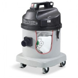 NDS570A NUMATIC SINGLE MOTOR FINE DUST VACUUM WITH POWER TOOL OUTLET 23LT