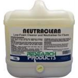 33015 RESEARCH NEUTRACLEAN - LOW FOAM CLEANER AND NEUTRALISER FOR FLOORS 15LT