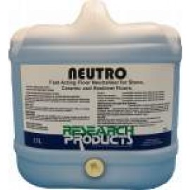 28015 RESEARCH NEUTRO - FAST ACTING FLOOR NEUTRALISER FOR STONE, CERAMIC AND RESILIENT FLOORS 15LT.