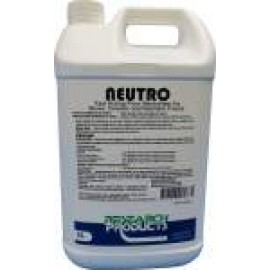 28015A RESEARCH NEUTRO - FAST ACTING FLOOR NEUTRALISER FOR STONE, CERAMIC AND RESILIENT FLOORS 5LT