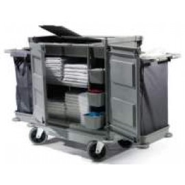 NKL17HF NUMATIC HARD FRONT HOUSEKEEPING TROLLEY