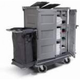 NKT22HF NUMATIC HARD FRONT HOUSEKEEPING TROLLEY