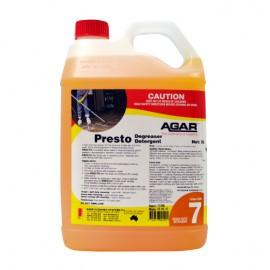PREST5 AGAR PRESTO - CAUSTIC BASED CLEANER 5LT