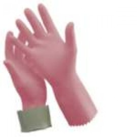 R-88PACK SILVERLINED PINK/FLOCKED LINED BLUE GLOVES PK OF 12 PER SIZE