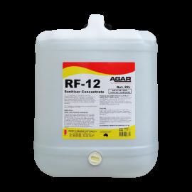 RFA20 AGAR RF-12- NO RINSE SANITISER 20LT