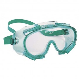 16362 JACKSON SAFETY GOGGLES GREEN FRAME