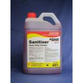 SAN5 AGAR SANITISER - FOOD GRADE CLEANER AND SANITISER 5LT