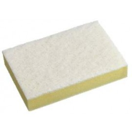 SC-210CTN OATES WHITE AND YELLOW SPONGE SCOURERS CTN 60